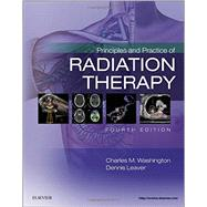 Principles and Practice of Radiation Therapy by Washington, Charles M., 9780323287524