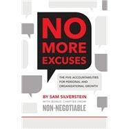 No More Excuses! by Silverstein, Sam, 9780768407525
