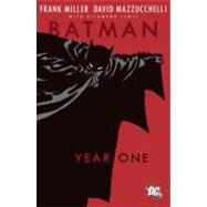 Batman - Year One by MILLER, FRANKMAZZUCCHELLI, DAVID, 9781401207526