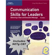 50 Minute Book With Cbt : Communication Skills For Leaders by Decker, 9781423917526
