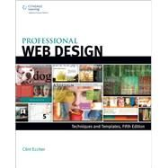 Professional Web Design Techniques and Templates by Eccher, Clint, 9781305257528