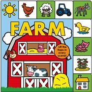 Lift-the-Flap Tab: Farm by Priddy, Roger, 9780312517533