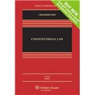 Constitutional Law by Chemerinsky, Ervwin, 9781454817536