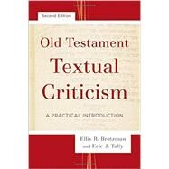Old Testament Textual Criticism by Brotzman, Ellis R.; Tully, Eric J., 9780801097539