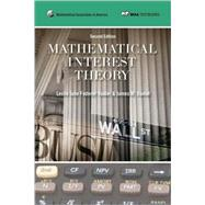 Mathematical Interest Theory by Vaaler, Leslie Jane Federer; Daniel, James W., 9780883857540