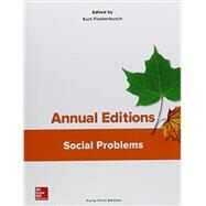 Annual Editions: Social Problems, 41/e by Finsterbusch, Kurt, 9781259667558