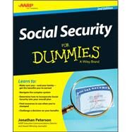 Social Security for Dummies by Peterson, Jonathan, 9781118967560