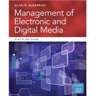 Management of Electronic and Digital Media by Albarran, Alan B., 9781305077560