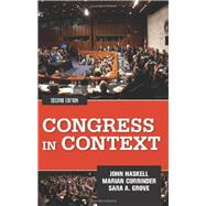 Congress in Context by Haskell, John; Currinder, Marian; Grove, Sara A., 9780813347561