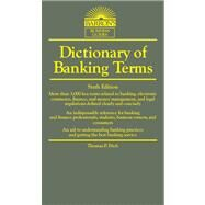 Dictionary of Banking Terms by Fitch, Thomas P., 9780764147562