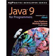 Java 9 for Programmers by Deitel, Paul J.; Deitel, Harvey, 9780134777566
