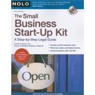 The Small Business Start-Up Kit by Pakroo, Peri H., 9781413307566