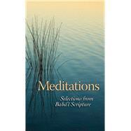 Meditations by Baha'i Publishing, 9781931847568