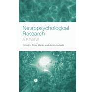 Neuropsychological Research: A Review by Maridn,Peter, 9781138877573