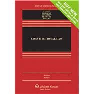 Constitutional Law by Stone, Geoffrey R.; Seidman, Louis Michael; Sunstein, Cass R.; Tushnet, Mark V., 9781454817574