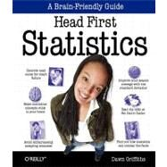 Head First Statistics by Griffiths, Dawn, 9780596527587
