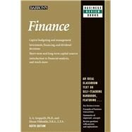 Finance by Nikbakht, Ehsan; Groppelli, A. A., Ph.D., 9780764147593