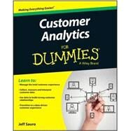 Customer Analytics for Dummies by Sauro, Jeff, 9781118937594
