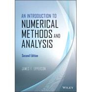 An Introduction to Numerical Methods and Analysis by Epperson, James F., 9781118367599