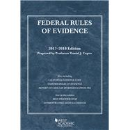 Federal Rules of Evidence, With Faigman Evidence Map 2017-2018 by Capra, Daniel, 9781683287599