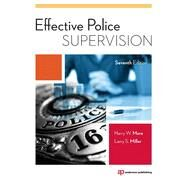 Effective Police Supervision by More; Harry, 9781455777600