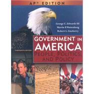 Government in America: People, Politics, and Policy: Advanced Placement Edition by Edwards, George C.; Wattenberg, Martin P.; Lineberry, Robert L., 9780131347601