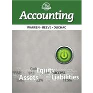 Accounting by Warren; Reeve; Duchac, 9781133607601