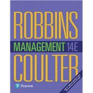 Management by ROBBINS & COULTER, 9780134527604