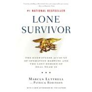 Lone Survivor by Luttrell, Marcus; Robinson, Patrick, 9780316067607