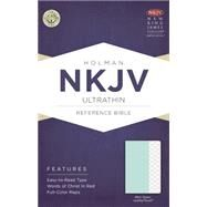 NKJV Ultrathin Reference Bible, Mint Green LeatherTouch by Holman Bible Staff, 9781433617607
