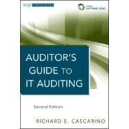 Auditor's Guide to IT Auditing, + Software Demo by Cascarino, Richard E., 9781118147610
