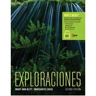Exploraciones (with Student Activities Manual and iLrn Heinle Learning Center, 4 terms (24 months) Printed Access Card) by Blitt, Mary Ann; Casas, Margarita, 9781305257610