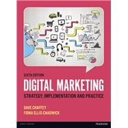 Digital Marketing by Chaffey, Dave; Ellis-Chadwick, Fiona, 9781292077611