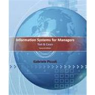 Information Systems for Managers: Text and Cases, 2nd Edition by Gabe Piccoli, 9781118057612