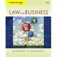 Cengage Advantage Books: Law for Business by Ashcroft,Ashcroft, 9781133587613