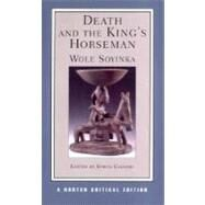 Death & King's Horseman Nce Pa by Soyinka,Wole, 9780393977615