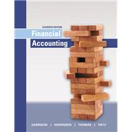 Financial Accounting by Harrison, Walter T., Jr.; Horngren, Charles T.; Thomas, C. William; Tietz, Wendy M., 9780134127620
