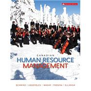 Canadian Human Resource Management by Hermann Schwind (Author),    Krista Uggerslev, 9781259087622