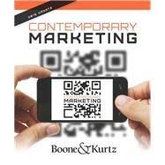 Contemporary Marketing, Update 2015 by Boone, Kurtz, 9781285187624