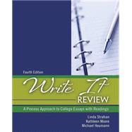 Write It Review by Strahan, Linda; Moore, Kathleen M.; Heumann, Michael, 9781465267627