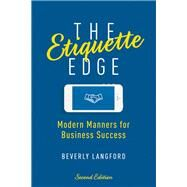 The Etiquette Edge by Langford, Beverly Y., 9780814437629