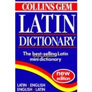 Collins Gem Latin Dict Pb by Harpercollins Publishers, 9780004707631