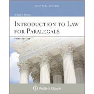 Introduction to Law for Paralegals by Bevans, Neal R., 9780735587632