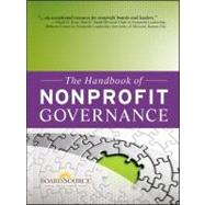 The Handbook of Nonprofit Governance by Unknown, 9780470457634