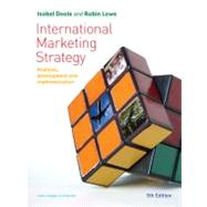 International Marketing Strategy : Analysis, Development and Implementation by Doole, 9781844807635