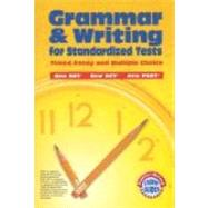 Grammar & Writing for Standardized Tests by Lee, Martin, 9780821507636