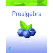 PREALGEBRA by Martin-Gay, Elayn, 9780134707648