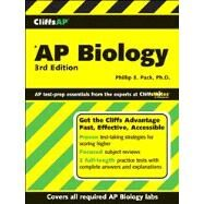 Cliffs AP Biology, 3rd Edition by Pack, Phillip E., 9780470097649