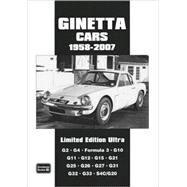 Ginetta Cars, 1958-2007 by Clarke, R. M., 9781855207653