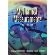 Mechanical Measurements by Beckwith, Thomas G.; Marangoni, Roy D.; Lienhard, V, John H., 9780201847659
